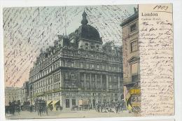 London Carlton Hotel Colour Card Good Street Life 1903 - London