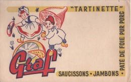 BUVARD  - Fromage GRAF Tartinette Jambons - Buvards, Protège-cahiers Illustrés