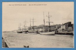 11 - PORT La NOUVELLE -- Quai De Débarquement Du Soufre - Port La Nouvelle