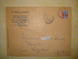 Saint Germain L'herm - Marcophilie (Lettres)