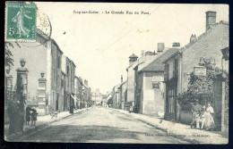 Cpa Du 70 Scey Sur Saône  -- La Grande Rue Du Pont   PY27 - Francia
