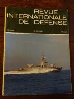 Revue Internationale De Défense N°10 De 1986 - Bateaux