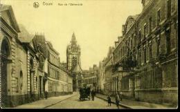 59 DOUAI Rue de l�Universit� ATTELAGE Feldpost 27.5.1917 nach K�slin Pommern
