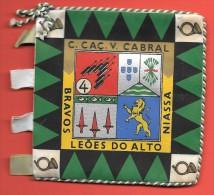 PORTUGAL  Fanion Militaire Infanterie Outremer Mozambique - Flags