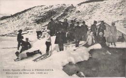 SPORTS D'HIVER A PEIRA CAVA 3685 ENVIRONS DE NICE  (ALT 1500 M)  BELLE ANIMATION 1913 - Frankreich