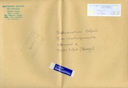 Frankreich Villeneuve Schalterfreistempel 2004 Papierflieger Association Sportive Hellemmoise Hellemmes - Poststempel (Briefe)