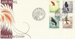 Papua New Guinea 1992 Birds Dated 25-03-92 FDC - Papoea-Nieuw-Guinea