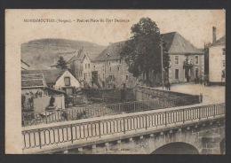 DF / 88 VOSGES / MOYENMOUTIER / PONT ET PLACE DU FORT DEMANGE / CIRCULÉE EN 1915 - Autres Communes