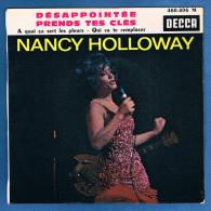 NANCY HOLLOWAY - VINYLE 45 Tours - Réf. 460.806 M - DECCA - Année 1963 - Vinyles