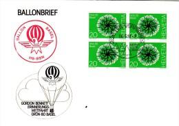VOL BALLON  1980 - Poste Aérienne