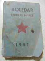 Koledar ljudiske milice  1951