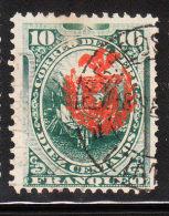 Peru 1881-82 Chilean Occupation Overprinted 10c Used - Peru