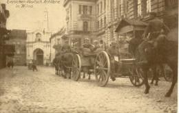 WILNA  VILNIUS  Einr�cken deutsche Artillerie Feldpost 1916