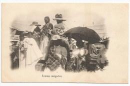 """- Lettre - MADAGASCAR - TAMATAVE - C�d Bleu s/TP """"Arbre du Voyageur"""" N�63 et 64x2 - 1905"""