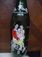 Bouteille Sérigraphiée - PETANQUE - 2010 - SAINT-POURCAIN - La Ficelle - 0.75l - (Allier) - - Otras Botellas