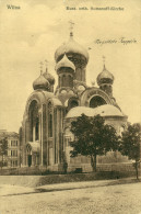 WILNA  VILNIUS  Russ. Orth. Romanoff Kirche  Feldpost 1916