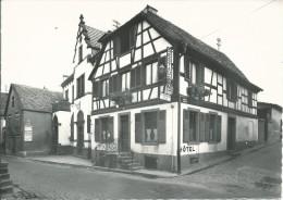 67 OBERNAI !!! CPSM 6570 !! Hôtel Restaurant à L'Agneau D'or - Obernai