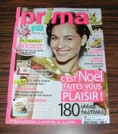 Magazine Revue Prima 376 Décembre 2013 - Lifestyle & Mode