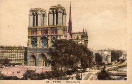 CPA PARIS - NOTRE DAME - Notre Dame De Paris