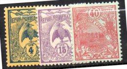 Nouvelle Calédonie  N° 90 93 & 98  Neuf  XX  Cote Y&T  5,00  €uro  Au Tiers De Cote - Nieuw-Caledonië