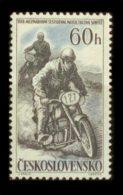 CZECHOSLOVAKIA 1957 MNH** - Motorbike Sport - Mi 1034, Sc 815 - Neufs
