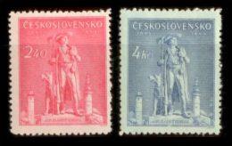 CZECHOSLOVAKIA 1945 MNH** - Jan Sladky Kozina - Mi 478-9, YT 425-6, Sc 305-6 - Neufs