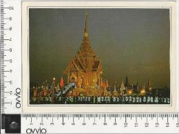 THAILANDIA) Bangkok -Royal Palace 1987 Viaggiata - Tailandia