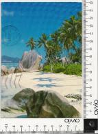 SEYCHELLES) LA DIGUE  1990 Viaggiata - Seychelles