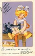 Publicité - Singer - La Machine à Coudre Moderne Et Rapide - Advertising