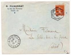 CaD Temporaire 'Congrès Philatéliques Paris' De 1937 - 1921-1960: Modern Period