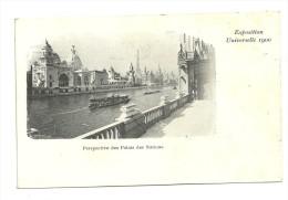 Exposition Paris 1900 : Perspective Du Palais Des Nations - Expositions