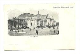 Exposition Paris 1900 :  Le Grand Palais - Expositions