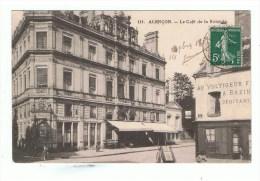 ORNE: ALENCON : LE CAFE DE LA ROTONDE ( 1908) - Alencon