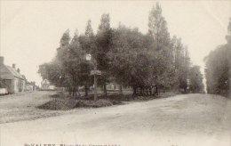 80 CPA SAINT VALERY SUR SOMME Place De La Croix L'Abbé - Saint Valery Sur Somme