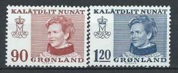 Groënland 1974 N°78/79 Neufs Reine Margrethe - Greenland