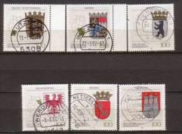 BRD , 1992 , Mi.Nr. 1586 - 1591 O / Used - [7] République Fédérale