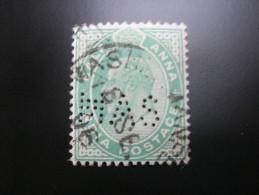 FIRMENLOCHUNG     ,  Perfin ,   2 Scans  , Selten - India (...-1947)