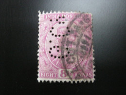FIRMENLOCHUNG     ,  Perfin ,   2 Scans  , Selten - 1911-35 King George V