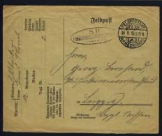 I.WK Feldpost Feldb�ckereikolonne 24.5.1915