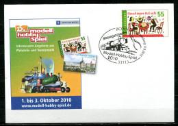 "Germany 2010  Privatplusbrief Mi.Nr.USo ?? Hobby Spiel M.SST""Bonn-Hobby-Spiel-Messeganzsache,Brettspiele ""1 Beleg - Games"