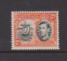 GRENADA   1938    2d  Black  And  Orange   Perf  13 1/2 X 12 1/2          MNH - Grenada (...-1974)