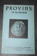 Bulletin De La Société D´Histoire Et D´Archéologie De Provins N°126 -  Année 1972 - Seine-et-Marne - Ile-de-France