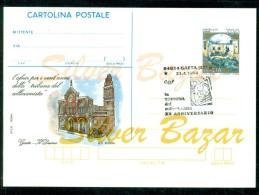 INTERO POSTALE -  INTERI POSTALI - CARTOLINA POSTALE - IPZS - I.P.Z.S- GAETA -PUBBLICITARI - AFNIR - 6. 1946-.. Repubblica