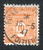 France N°629 Oblitéré, Qualité Superbe - Usati