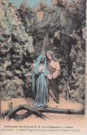 CPA Etablissement Des Soeurs De N.-D. De La Compassion à Jolimont - Le Calvaire - Sainte Vierge Et Saint Jean (10616) - Manage