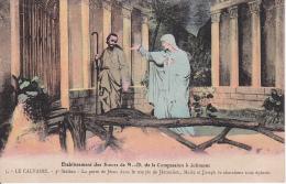 CPA Etablissement Des Soeurs De N.-D. De La Compassion à Jolimont - Le Calvaire - 3e Station (10618) - Manage