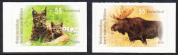 !a! GERMANY 2012 Mi. 2921-2922 MNH SET Of 2 SINGLES From Booklet -Re-Settlement By Domestic Wild Animals - [7] Federal Republic