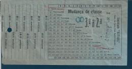 Ticket Society Estoril Railways. Sodre-Cascais pier. 1930s Good condition.Ticket-Gesellsc haft Estoril Railways.