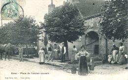 N°545A -cpa Essai -place De L'ancien Couvent- - Francia