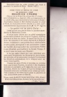MARCHIENNE-au-PONT STREE Maurice CRAME 1866-1928 Curé Né à Châtelet Souvenir Mortuaire Doodsprentje - Obituary Notices
